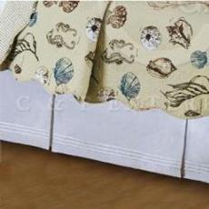 Historie de la Mer Dust Ruffle Bed Skirt