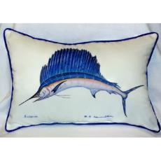 Sailfish Outdoor Pillow