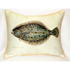 Flounder Indoor Outdoor Pillow