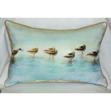 Avocets Indoor Outdoor Pillow