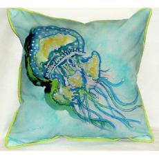 Jelly Fish Large Indoor/Outdoor Pillow