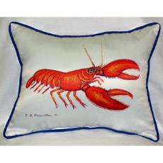 Red Lobster Indoor Outdoor Pillow