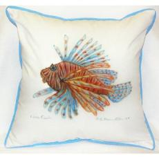 Lion Fish Indoor Outdoor Pillow