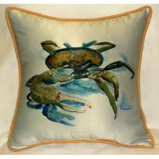Fiddler Crab Indoor Outdoor Pillow