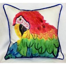 Parrot Head Indoor / Outdoor Pillow