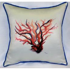 Red Coral Indoor / Outdoor Pillow