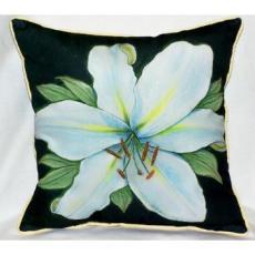 Casablanca Lily Indoor Outdoor Pillow