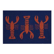 "Hot Lobster Hook Rug 27X40"""