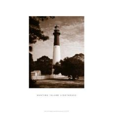Hunting Island Lighthouse Framed Art