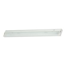 Zeelite 6 Lamp Cabinet Light In White And Diffused Glass