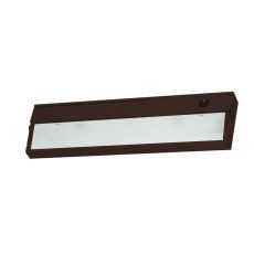 Zeelite 1 Lamp Cabinet Light In Bronze And Diffused Glass