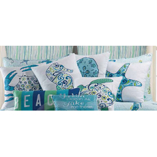 Imperial Coast Sea Turtle Pillow Sham