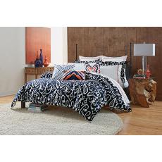 Trina Turk Indigo Ikat Comforter Set