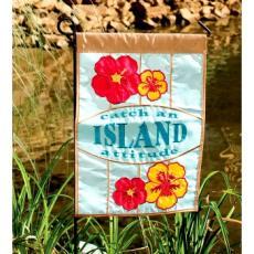Catch an Island Attitude flag