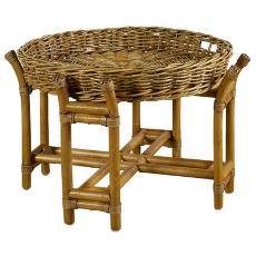 Woven Java Tray Table