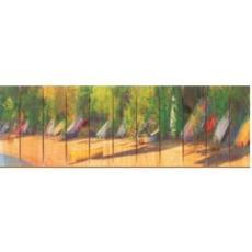 Jamaican Boats Wood Art