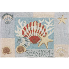 Key West Clam Shell Rug