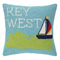 Take Me To Key West Hook Pillow