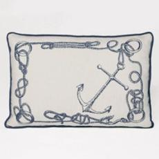 Knots Nautical Linen Pillow