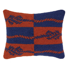 Double Colorway Ropes Hook Pillow
