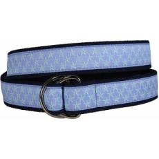Starfish (Periwinkle) D-Ring Belt