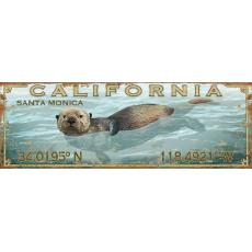 Latitude Sea Otter Wall Art