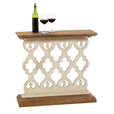 Lattice Work Hall Console Table