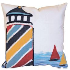 Lighthouse Indoor Outdoor Pillow