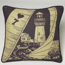 Lighthouse Nautical Pillow