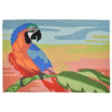 Macaw Sunset Indoor/ Outdoor Rug