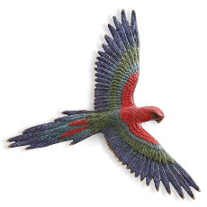 Macaw Wall Plaque