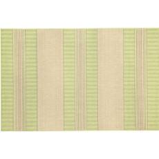 Madison Stripe Green Indoor/ Outdoor Rug