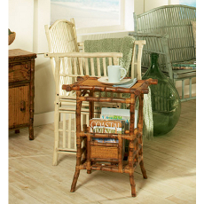 Coastal Bamboo Magazine Table