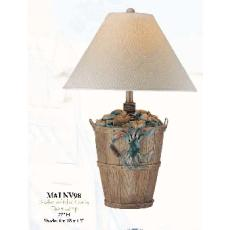 Bushel of Blue Crabs Table Lamp