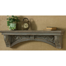 Aged Grey Mantel