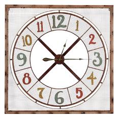 "Oversized 39""Maxwell Clock"