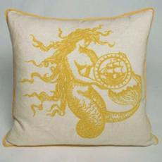 Mermaid Nautical Pillow