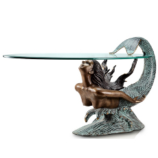 Diving Mermaid Coffee Table