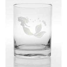 Mermaid DOF Set of 4 Glasses