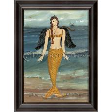 Mermaid Angel Framed Art