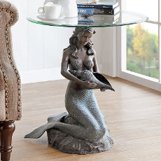 Mermaid End Table