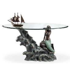 Mermaid & Schooner Coffee Table