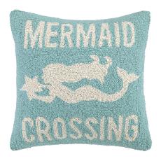 Mermaid Crossing Hook Pillow