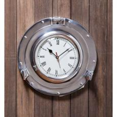 Metal Porthole Wall Clock