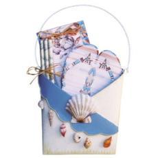 Beachy Metal Holder Gift Set