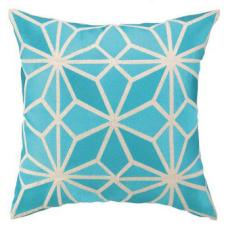 Mojave Turquoise Embroidered Pillow