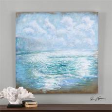Morning Swells Canvas Art