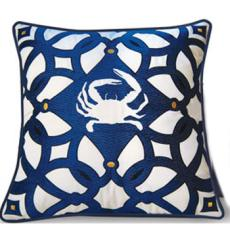 Moroccan Crab Indoor Outdoor Pillow