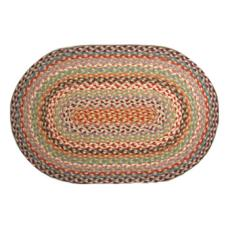 Beach Cottage Multicolored Braided Rug
