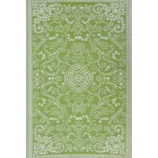 Murano - Lime Green & Cream Indoor- Outdoor Rug